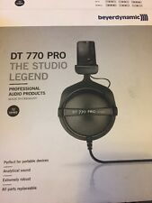 Beyerdynamic DT 770 Pro 32 Ohm Professional Studio Headphones USED