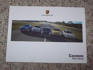 2011 porsche cayenne cayenne s cayenne turbo owner user manual 3 6 rh ebay com 2014 Porsche Cayenne New Porsche Cayenne
