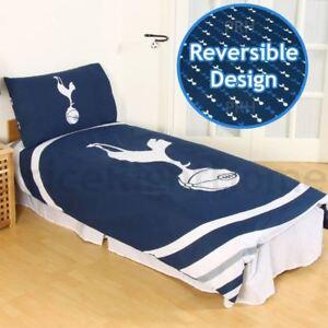 Tottenham-hotspur-fc-Impulsion-Housse-Couette-Simple-Set-Official-Football-Lit