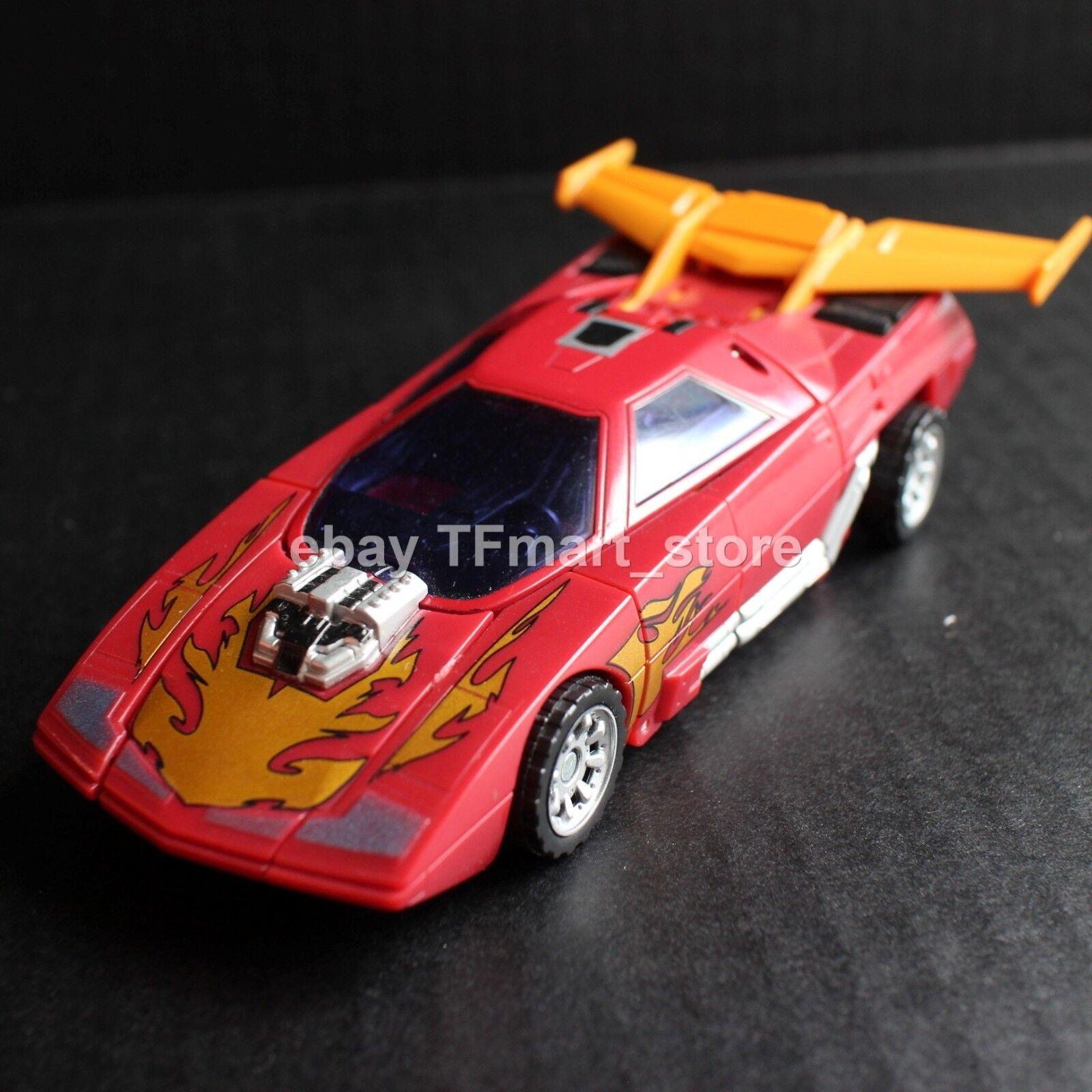 Clásicos de Transformers Rodimus Hot Rod Original Primera versión generaciones