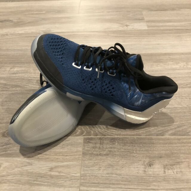 Adidas Crazylight Boost Primeknit Andrew Wiggins Basketball Shoe Size 10 AQ7651