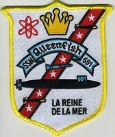 USS Queenfish SSN 651 - Crest BC Patch Cat No C5346