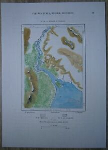 Gulf Of California Map.Details About 1891 Perron Map Estuary Of Colorado River Gulf Of California Mexico 19