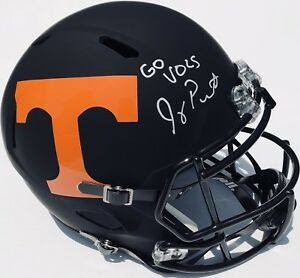 JEREMY PRUITT SIGNED TENNESSEE VOLUNTEERS F/S FOOTBALL ...