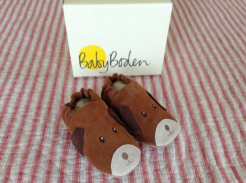 Mini Boden 12//18M Puppy Suede Shoes New Shipped Out Of Box
