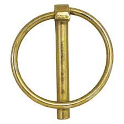 Pernos De Enganche Eje Lynch Pin haga clic pin pines de bloqueo Anillo Seguridad primavera con anillo abatible