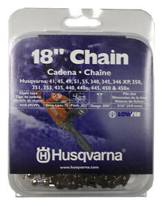 New-Husqvarna-531300439-18-034-H30-72-95VP-Chainsaw-Chain-325-034-by-050-034-LowVib