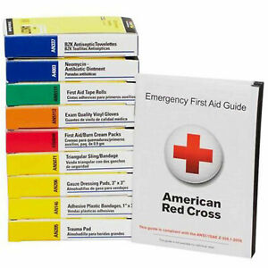 First Aid Only 740010 First Aid Kit Refill for 10 Unit First Aid Kits, ANSI