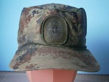 SERBIA ACTUAL OFFICER ARMY HAT CAP PATCH,ACTUAL -CURRENT DIGITAL MODEL , SIZE 56