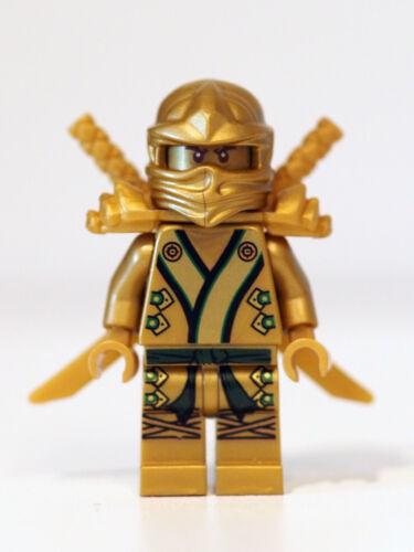 Lego GOLDEN NINJA LLOYD kimono GENUINE 71239 70505 70503 dragon TEMPLE