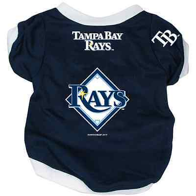 NEW TAMPA BAY RAYS PET DOG BASEBALL JERSEY ALTERNATE STYLE ALL SIZES