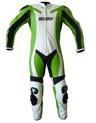 GANTS NEUF moto en cuir NEUF S M L XL XXL vert Kawasaki
