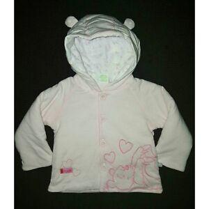40703a3df8417 DISNEY BABY manteau blouson bébé WINNIE THE POOH rose taille 1-3 ou ...