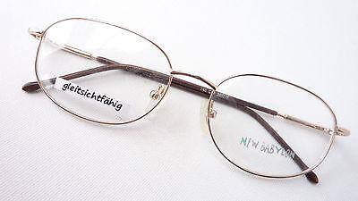 Adattabile Versione Occhiali Montatura In Metallo Filigranglas Immemore Oro Senza Tempo Unisex Size M-mostra Il Titolo Originale