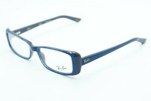 NEW RAY-BAN RB 5243 5083 BLUE GREY AUTHENTIC EYEGLASSES FRAME RX RB5243 52-16