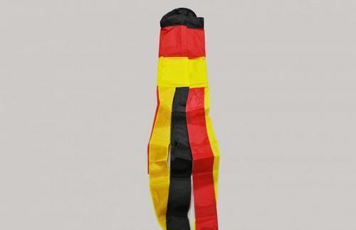 "1.5M Or 60/"" Long Germany German Flag Windsock 100/% Nylon"