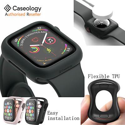 online store 5c689 37cae Apple Watch Series 4 Case, Genuine Caseology VAULT Soft Slim Cover for  40/44mm | eBay