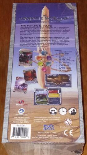 THE NINTH WORLD Skillbuilding Game Numenera KICKSTARTER ED+PROMOS NEW//FREE SHIP