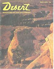 Grandview Point Monument Canyon Desert Mag May 1976 Palm Desert California