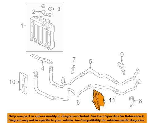 BMW OEM 11-12 750Li 4.4L-V8 Oil Cooler-Outlet Pipe Holder 17117589524