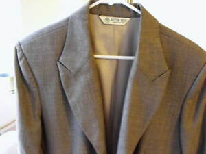 Nwt Stunning Austin Reed Of London Gray Birdseye Weave Overcoat 16 Reg Ebay