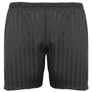 Unisex Kids Only Uniform School PE Gym Class Sports Shadow Stripe Shorts