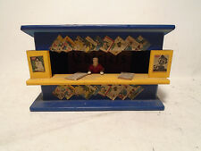 ORIGINAL AMERICAN FLYER S SCALE ALL WOOD #271 BLUE NEWSTAND