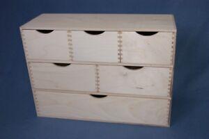 Armario-de-almacenamiento-de-madera-lisa-pecho-cajones-Organizador-De-Mesa-Escritorio-De-Oficina-321