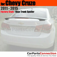 Painted Trunk Spoiler For 11 15 Chevrolet Chevy Cruze Wa636r Silver Ice Metallic Fits Cruze