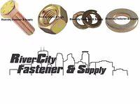(36) Grade 8 7/16-14x1-1/2 Hex Head Bolts & Flat Washer & Lock Washers