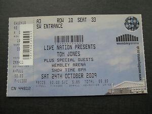 TOM JONES  WEMBLEY  24102009  TICKET UNUSED - <span itemprop=availableAtOrFrom>London, United Kingdom</span> - TOM JONES  WEMBLEY  24102009  TICKET UNUSED - London, United Kingdom