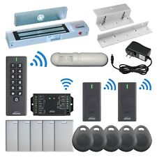 Visionis Fpc 6378 300lbs Inswing Door Maglock Wireless Keypad And Exit Button