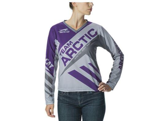 Women/'s Team Arctic Cat Purple Jersey S M L XL 2XL 5293-342 5293-344 5293-346