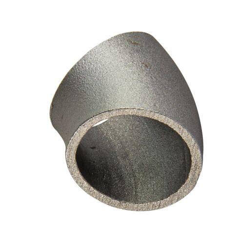 Schweissbogen 60,3 x 2,9 mm 45° kurz 2 Zoll DN50 Rohrbogen Schweissfitting