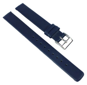 Adora-Design-Spare-Band-12mm-Leather-Smooth-Flat-Blue-No-Seam-Model-AD8164