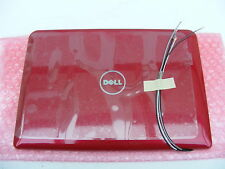NEW DELL T630R INSPIRON MINI 1011 RED LCD BACK COVER .