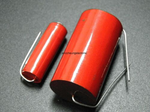 4pcs AudioPhiler 4.7uF 250V Tubular Audio Capacitor 475J