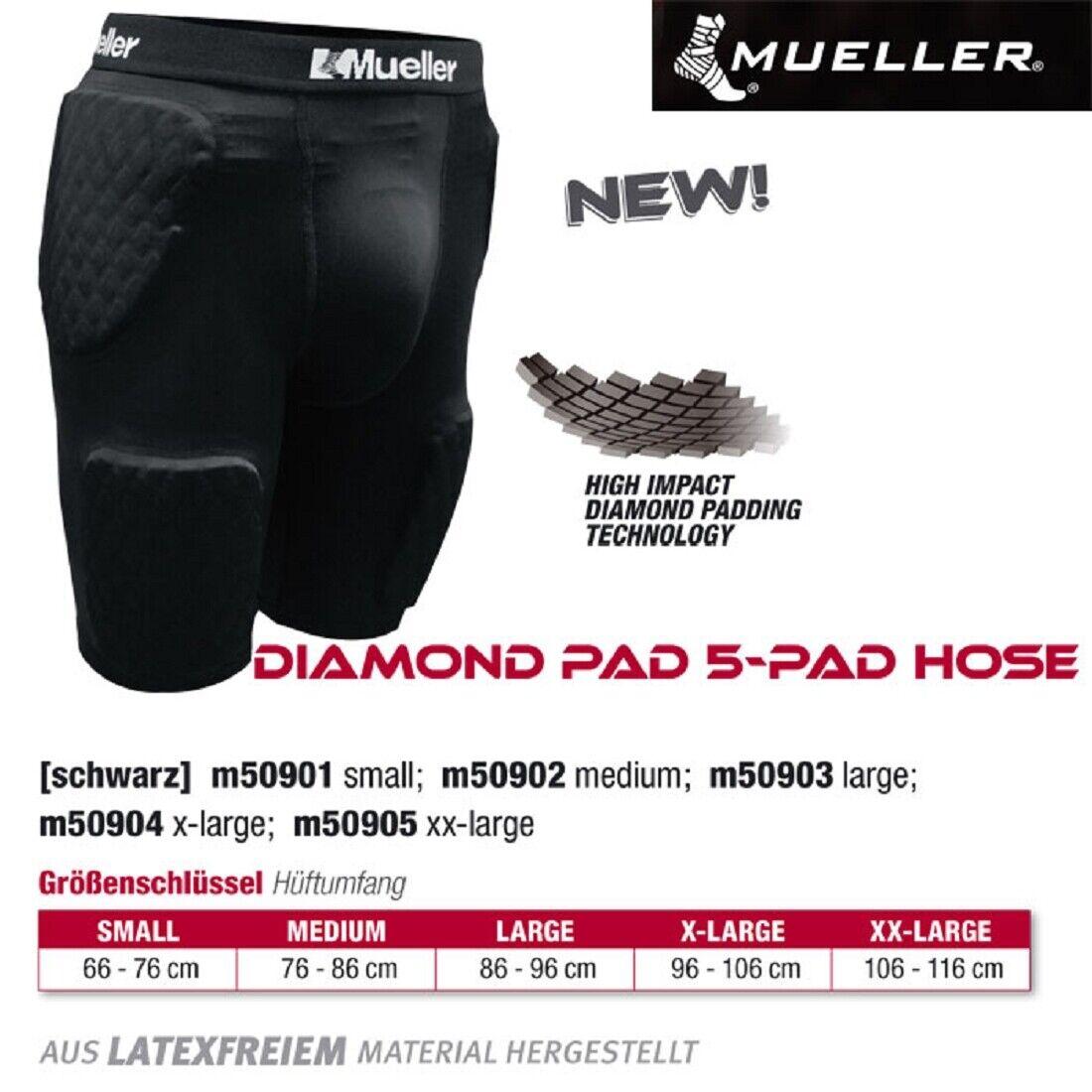MUELLER Diamond Pad 5-Pad Hose 1 Stck L