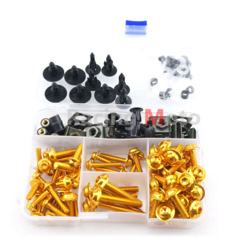 Complete Fairing Bolts Screws Body Kits Nuts For Honda CBR600RR 600RR 2009-2012