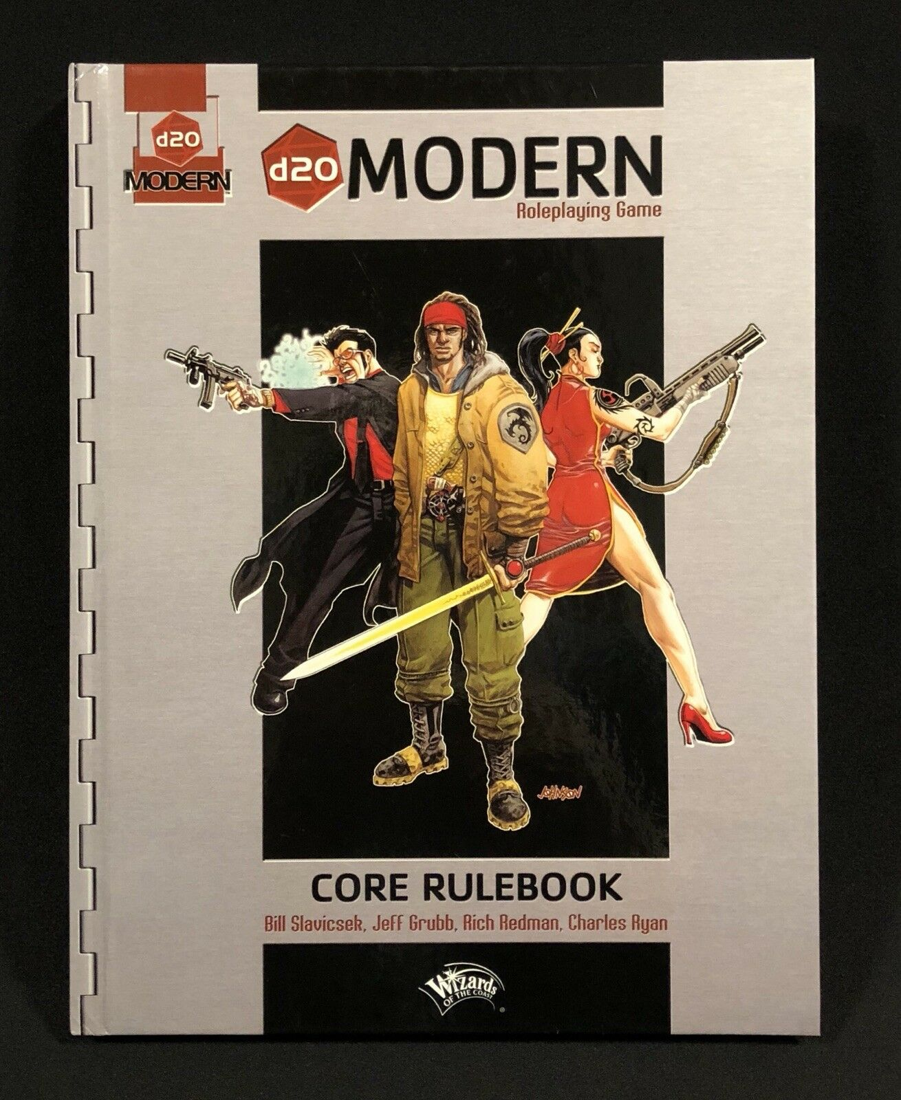 WotC d20 Modern Core Rulebook RPG First Printing 2002
