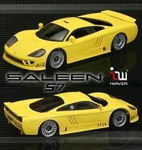IWAVER 1:28 02M FORD SALEEN S7 giallo ON-ROAD CAR ELETTRICA BRUSHED FM 2WD RTR