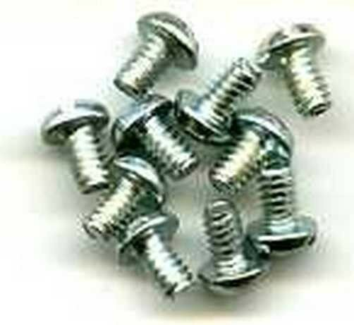 S0 SCREWS (10) for AMERICAN FLYER S HO Gauge Scale Trains