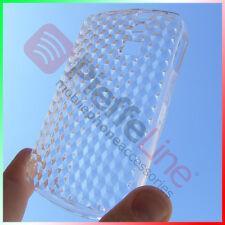 Custodia in silicone trasparente BIANCA cover per BLACKBERRY 8350i CURVE