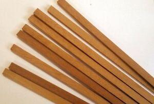 Quality Mahogany Stripwood 1 5mm X 3mm X 457mm Bundle Of