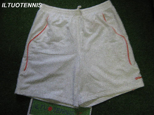 Short tennis WILSON mod.BOULOGNE - Tg. M - col.BIANCO