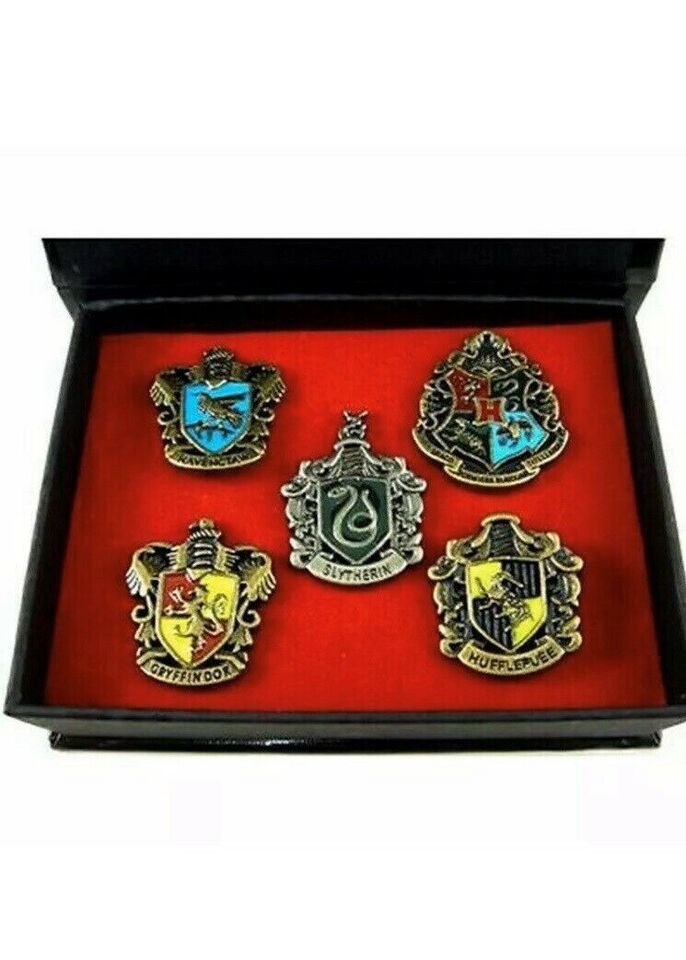 Harry Potter pin badge sæt udklædning , Harry Potter