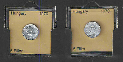 Gem Unc Hungary 1970-BP 5 Filler~Key Date~Free Shipping