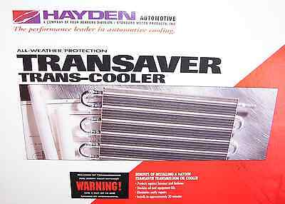 OC-1402 Transmission Oil Cooler Hayden 402 Towing up to 2,500 LBS