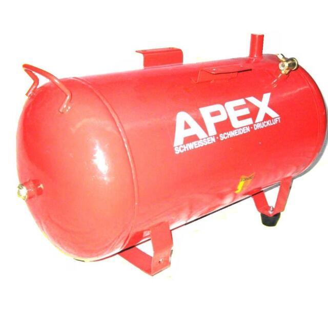 gebrauchter Druckluftkessel 24 L  8 bar Kompressor Luft Druckluftbehälter Kessel