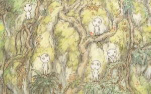 Princess-Mononoke-Anime-Replica-Layout-Animation-Art-Hayao-Miyazaki-Ghibli-1997